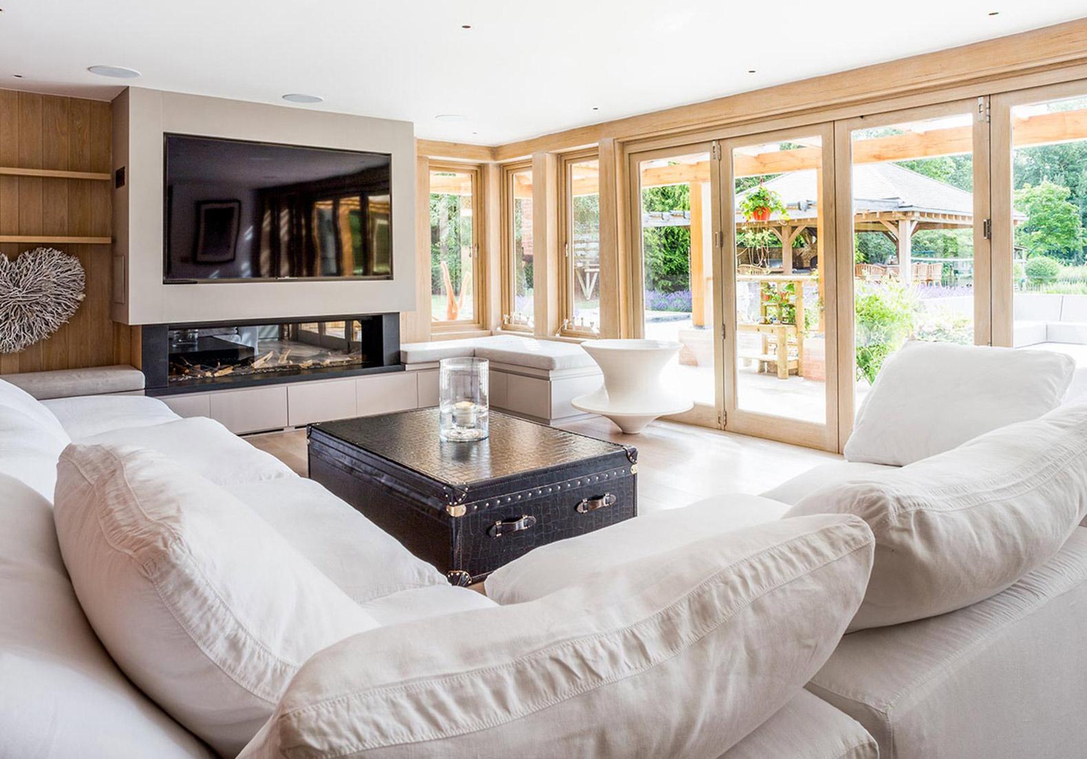 New Build Family living room