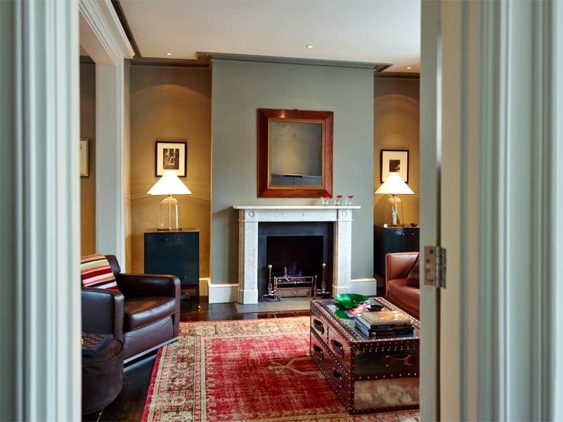 Regency Townhouse living room