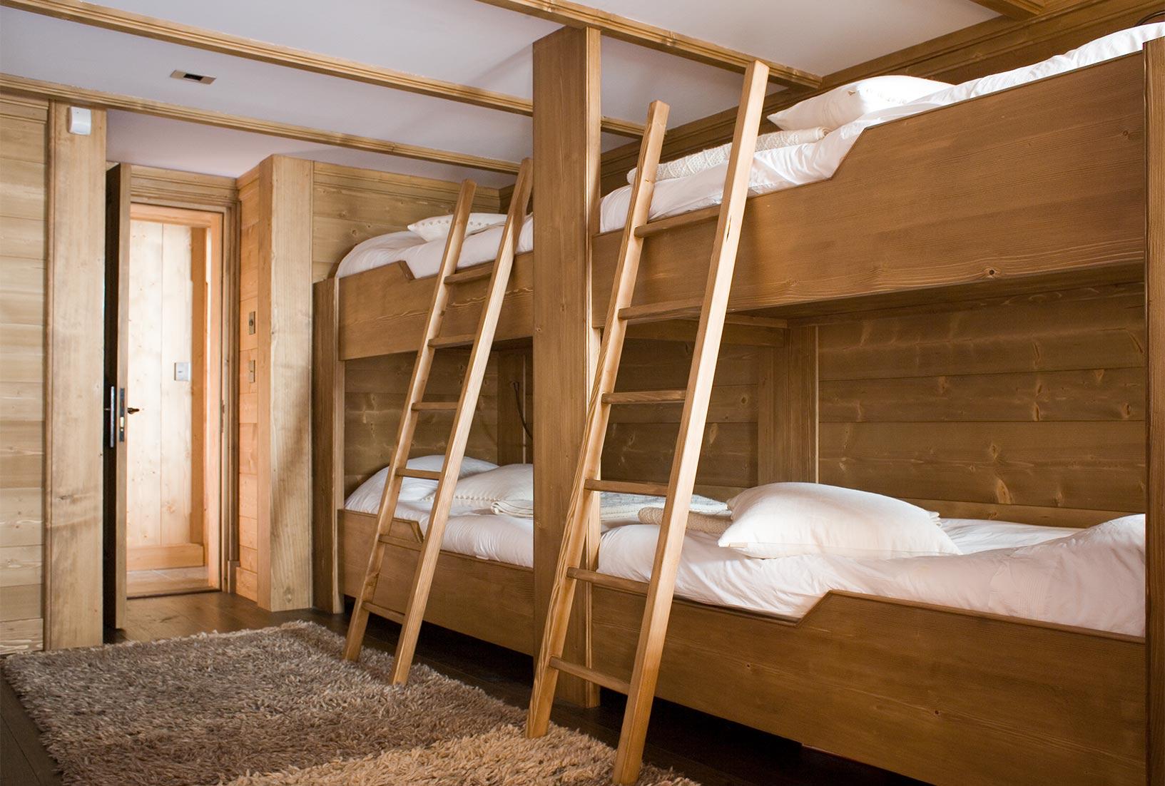 Ski Chalet bunk Beds