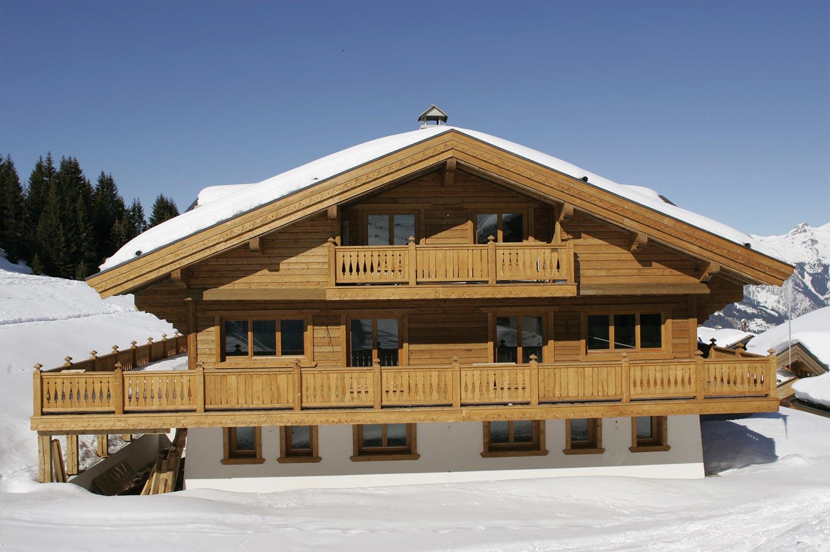 Ski Chalet Exterior