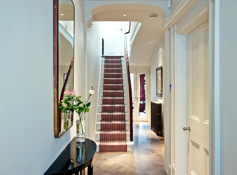 Regency Townhouse Entry Hallway