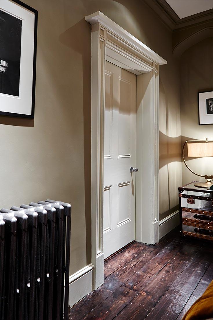 Regency Townhouse Bedroom door