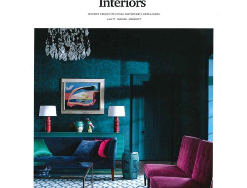 Hospitality Interiors October 2017