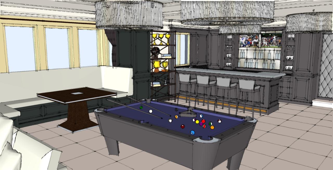 Bespoke Bar design option