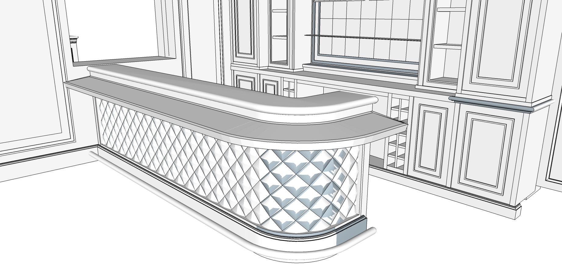 Bespoke Bar design sketch