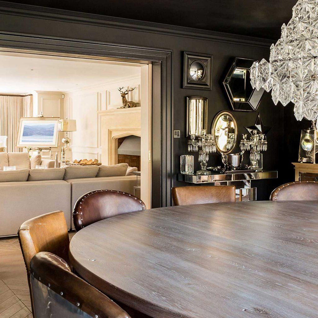 Dining room interior design residential