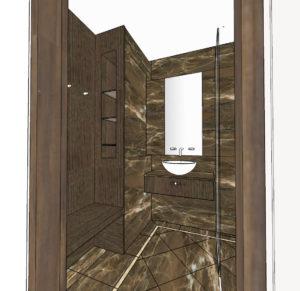 Johnevansdesign | Small Changing room Challenges | Spa design | leisure Design