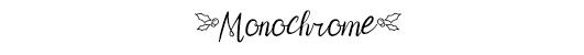 monochrome christmas decorations